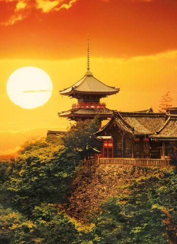 Clementoni-Puzzle-1000-Teile-Kyoto-Japan-39293-Tempel
