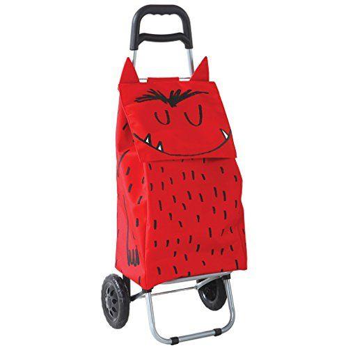 Laroom 13685 - Carro compra, 36,5 x 28 x 93 cm, color rojo Precio e informacion en la tienda: http://www.comprargangas.com/producto/laroom-13685-carro-compra-365-x-28-x-93-cm-color-rojo/