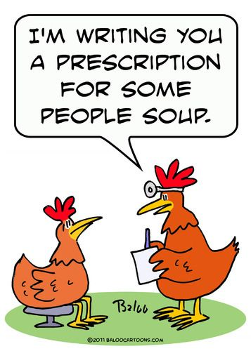 What can you do for a sick chicken? LOL!