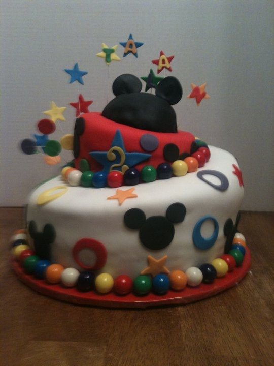 He will b having Mickey party this year :)