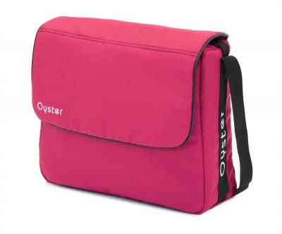 The Oyster 2 Changing Bags are designed to compliment the color packs of the Babystyle Oyster.   The stylish and functional Babystyle Oyster Complimenting Bag provides ample storage for all the essentials and includes changing mat. New colour - Hot Pink.
