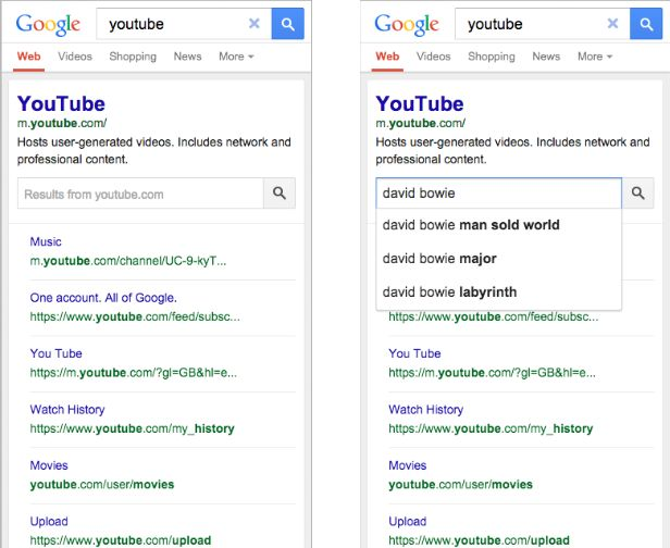 Official Google Webmaster Central Blog: An improved search box within the search results