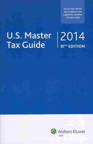 U.S. Master Tax Guide 2014