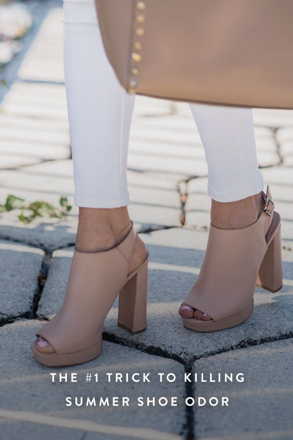 The #1 Trick to Killing Summer Shoe Odor via @PureWow Put each one in a ziploc bag and put in freezer overnight