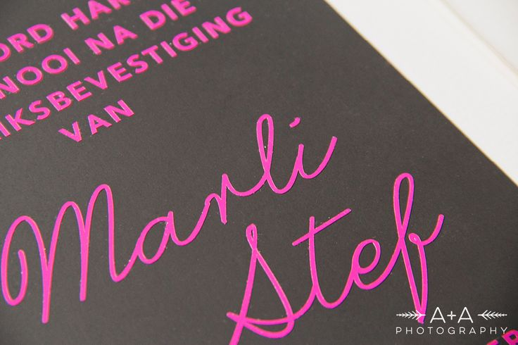 Marzaan and Stefanus – E-Shoot Part 1 | Black, White & Pink Invitation with Vinyl