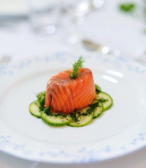 Salmon-terrine