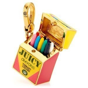 Juicy Couture Charm - Because God blessed me with a wonderful box of Crayons