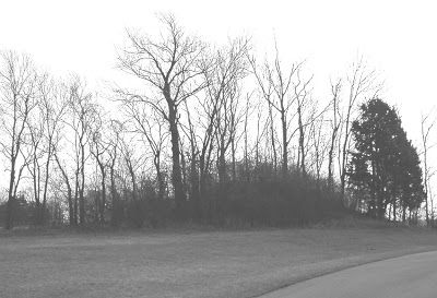 Mound Builders: A Travel Guide to the Ancient Ruins in the Ohio Valley: Burial Mound Photographed in Butler County, Ohio