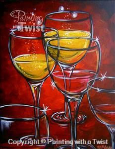 17 best images about upcoming classes on pinterest trees for Painting with a twist san diego