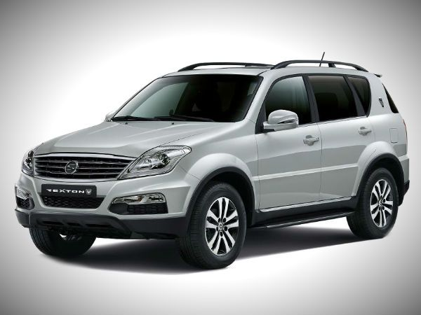 Mahindra owned South Korean automaker, Ssangyong Motor unveiled the new facelift Rexton flagship SUV at the 2012 Busan Motor Show.