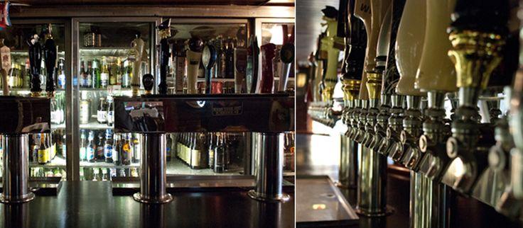 Bier Baron Tavern- Happy Hour (burger + draft = $10)