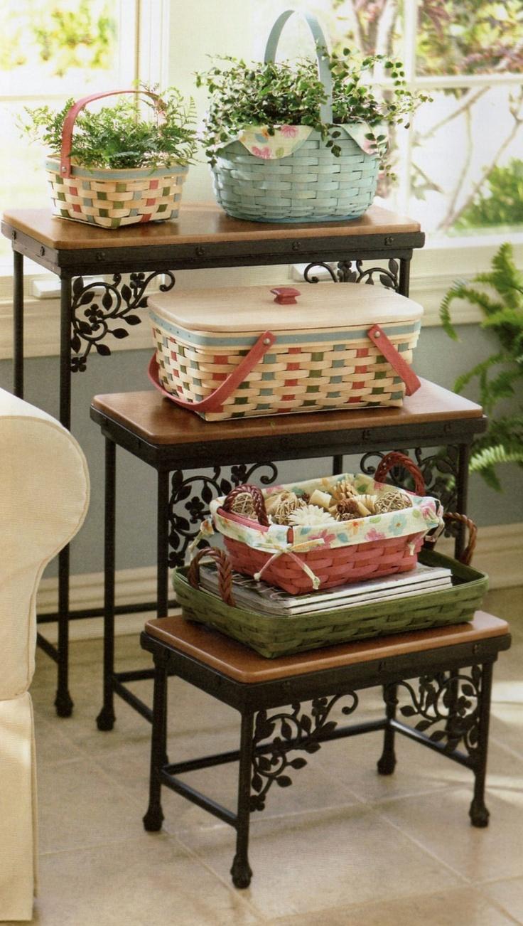 203 best Longaberger Baskets images on Pinterest