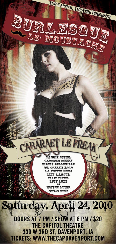 Da da danielle colby cushman tattoos - Did You Know Danielle Was A Stripper Burlesque Le Moustache Poster Featuring Danielle From American Pickers