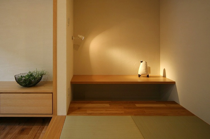 simple space and tatami
