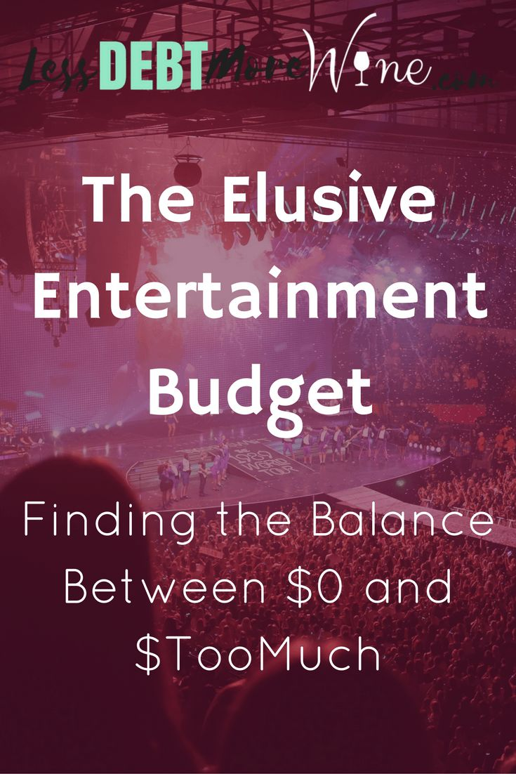 I always struggle with my entertainment budget, I love this approach to finding a balance.