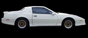 "1987 ""notchback"" Trans Am GTA"