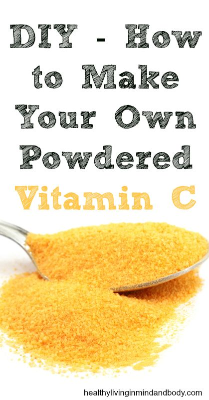 Make Your Own Powdered Vitamin C - Wait dont toss out those orange peels!