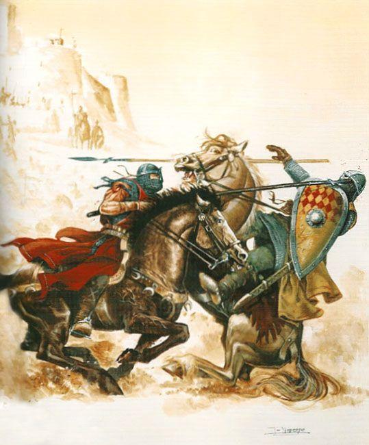 """""""El Cid: Guerra con Toledo"""", Justo Jimeno Bazaga"""