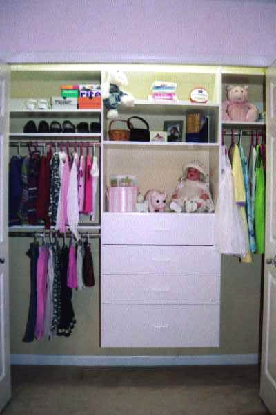 Closet Designs Reach In Closet And Design On Pinterest