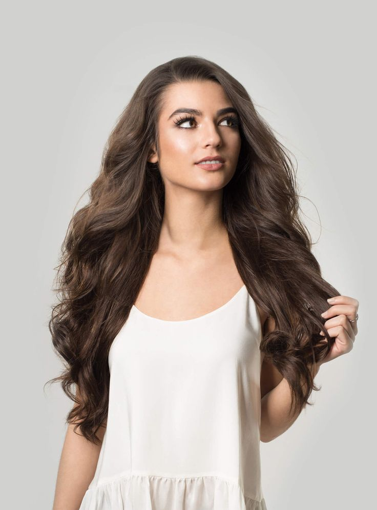 Luxy Hair - Chocolate Brown #4 - 20
