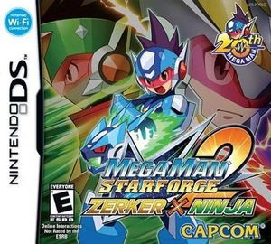 Mega Man Star Force 2 Zerker X Ninja - DS Game