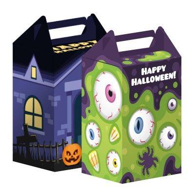 Le DIY pour Halloween !!!! Boîte à beurk pour les bonbons ou maison hantée !