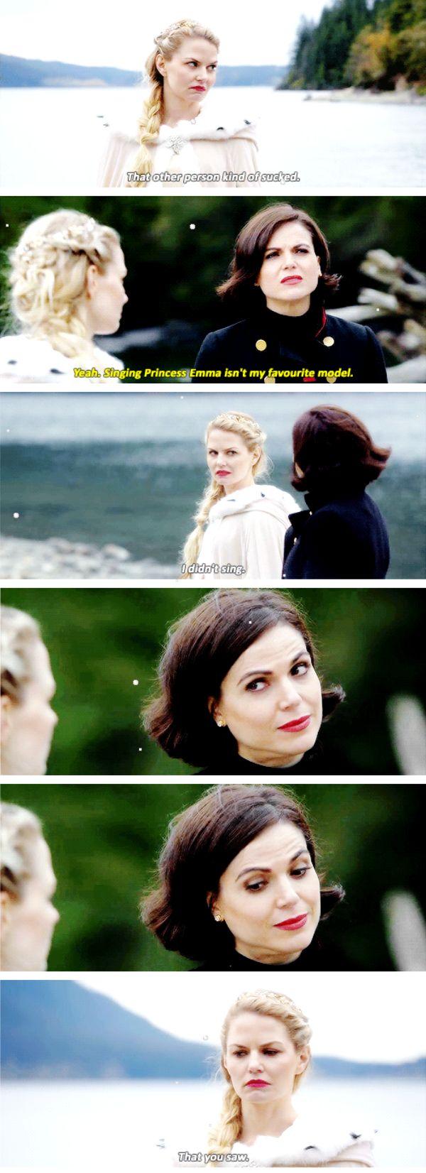 Emma and Regina - 6*10 ~ Wish You Were Here