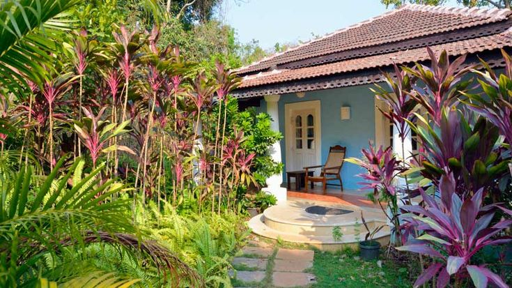 Gorgeous mini-villa, at Wildflower Villas, a boutique hotel/resort (neither word is really apt), in Goa. To book or enquire: https://www.tripzuki.com/hotels/vivenda-dos-palhacos-goa/