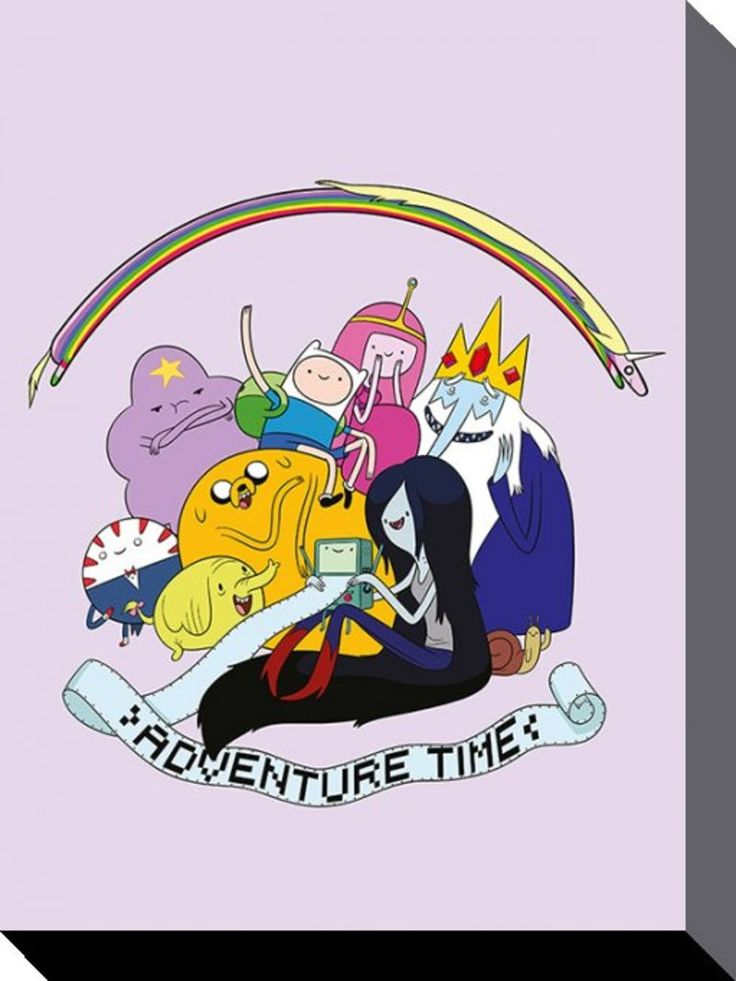 Adventure Time - Group - Official Canvas Print