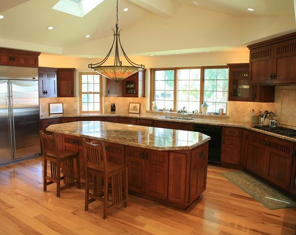 Craftsman Kitchen Design Craftsman Style Kitchen Blue