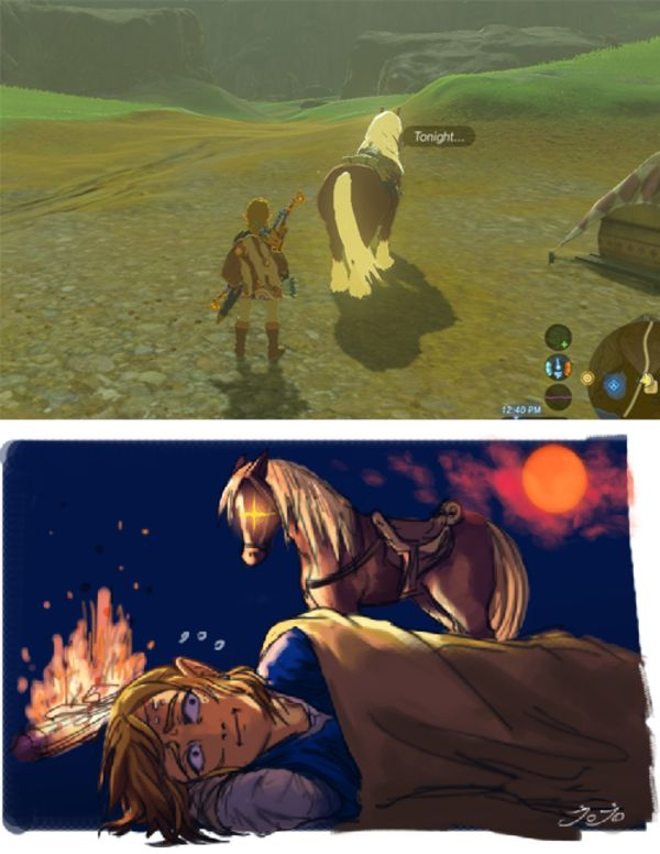 Tonight | The Legend of Zelda: Breath of the Wild | Know Your Meme