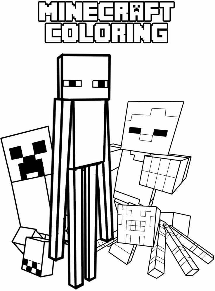 minecraft wolf coloring pages | Minecraft Wolf Coloring Sheets Mobs Coloring Pages
