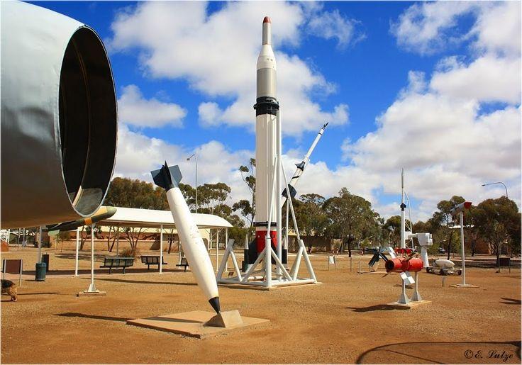 Woomera Space Capital of Australia SA