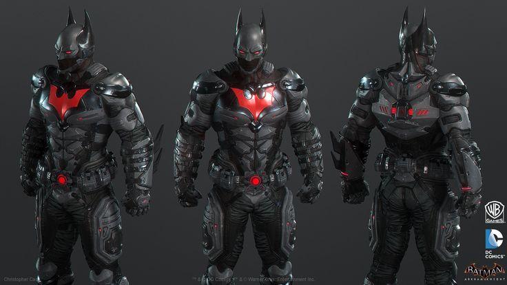 ArtStation - Batman: Arkham Knight Skin, Batman Beyond Game Model, Christopher Cao