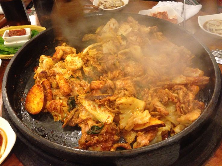 Dakalbi.  My first meat experience in Korea.  It took two years~
