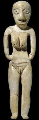 From Badari, Egypt Badarian culture, around 4000 BC, Predynastic period Height: 14 cm