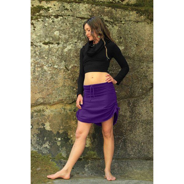 Cinchy Skirt-Summer Skirt-Beach Skirt-Festival Skirt-Women's... ($48) ❤ liked on Polyvore featuring skirts, mini skirts, black, women's clothing, ruched mini skirt, evening skirts, short mini skirts, mini skirt and purple a line skirt