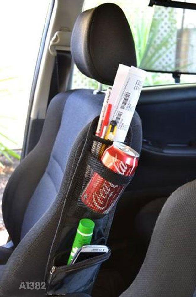Side Pocket / Saku Samping pada Jok Mobil (Kode : A1382)