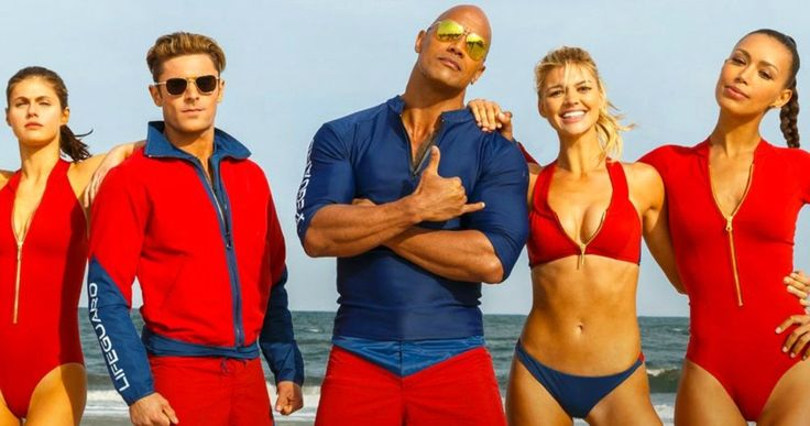 Baywatch Movie Trailer: Zac Efron & the Rock Save the Beach -- Dwayne Johnson and Zac Efron team up to make the beaches safe again in the first trailer for the R-Rated Baywatch movie. -- http://movieweb.com/baywatch-movie-trailer-2017/
