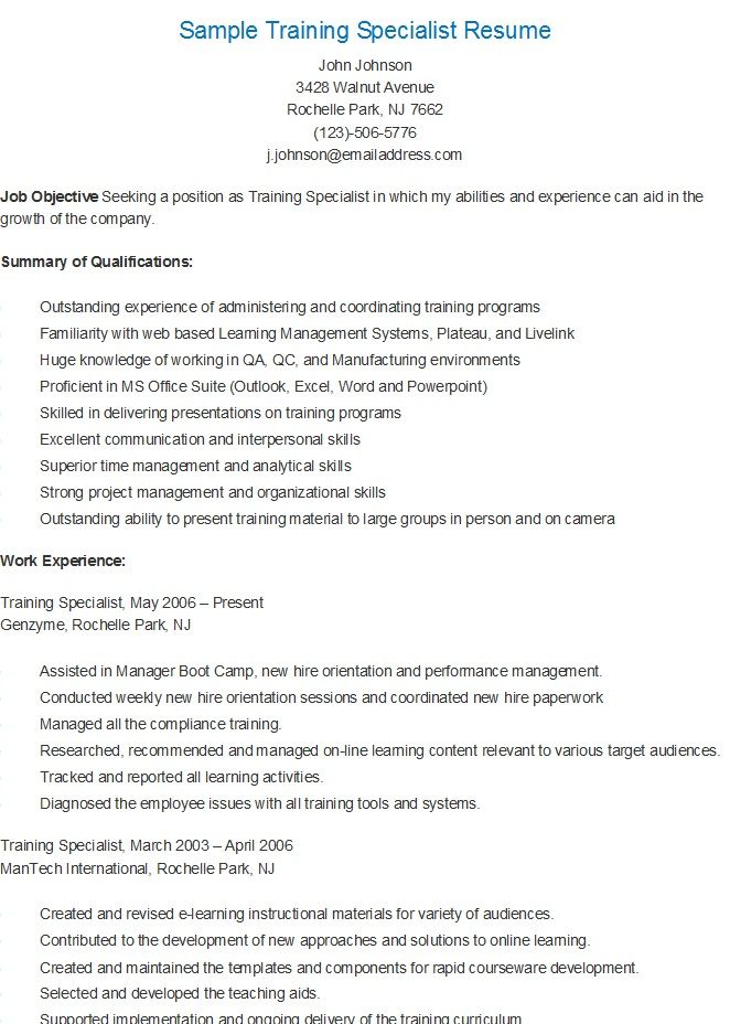Recreation Specialist Sample Resume Professional Therapeutic - knowledge management specialist resume