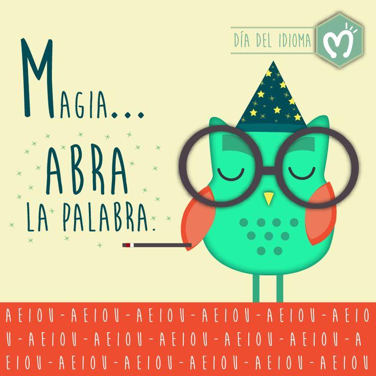 Día del Idioma. #DíaDelIdioma #Idioma #FábricaDeSueños #Migas #M