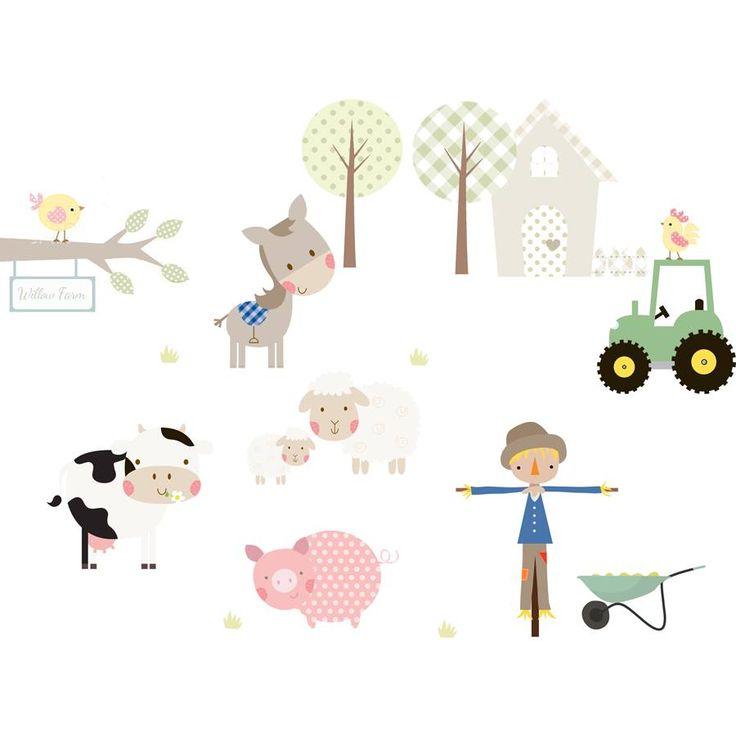 """Über 1.000 ideen zu """"farm wall stickers auf pinterest ..."""
