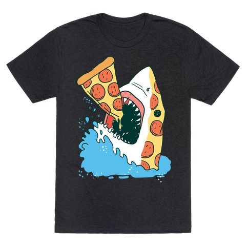 This shark shirt is great for lovers of pizza, junk food, eating and of course shark week. Pizza shark is the shark for you. This shark week shirt is perfect for fans of shark shirts, pizza shirts and pizza memes, so nom nom grab some pepperoni and get ready for the beach.