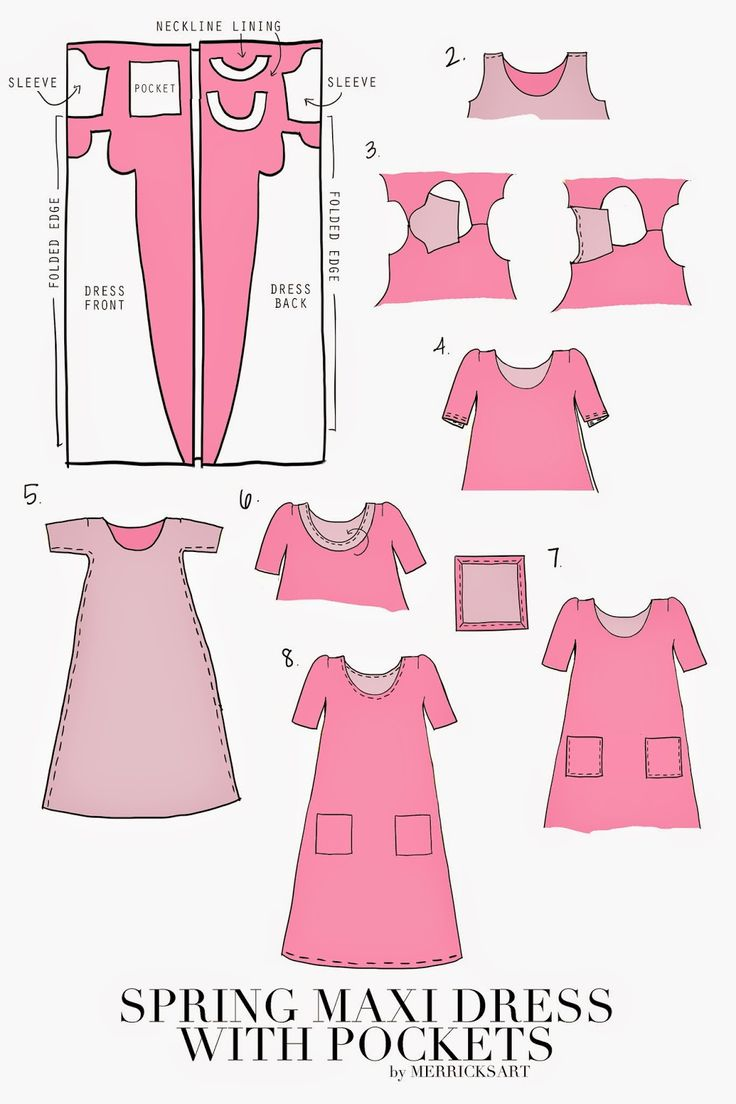 Merrick's Art // Style + Sewing for the Everyday Girl: DIY FRIDAY: BOXY MAXI DRESS WITH POCKETS