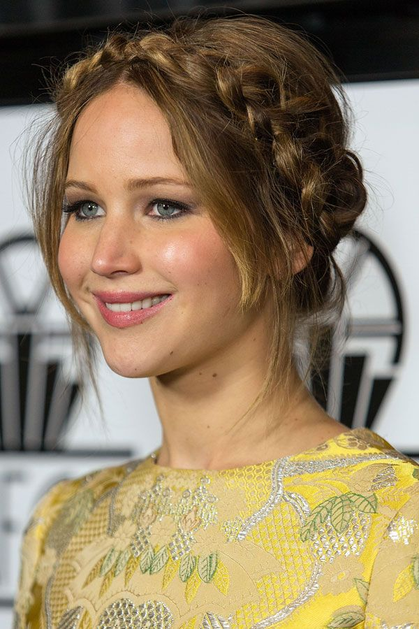 Jennifer Lawrence Flechtfrisur