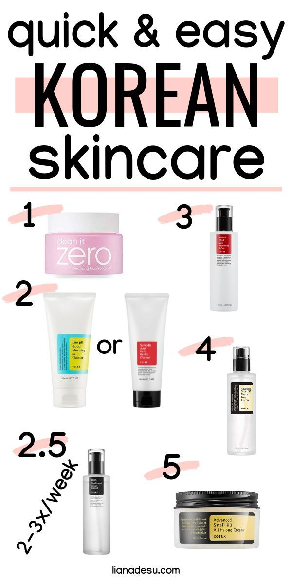 Easy 5 Step Korean Skincare A Great Introduction To Korean Skincare Products Liana Desu Korean Skincare Routine Korean Skincare Simple Skincare