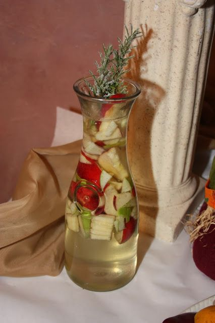 Apple Cider Sangria - The Perfect Pre-Thanksgiving Dinner Cocktail - Recipe Courtesy of Frank Palazzolo of Nonna Marias Ristorante and Pizzeria | The Bubbly Hostess