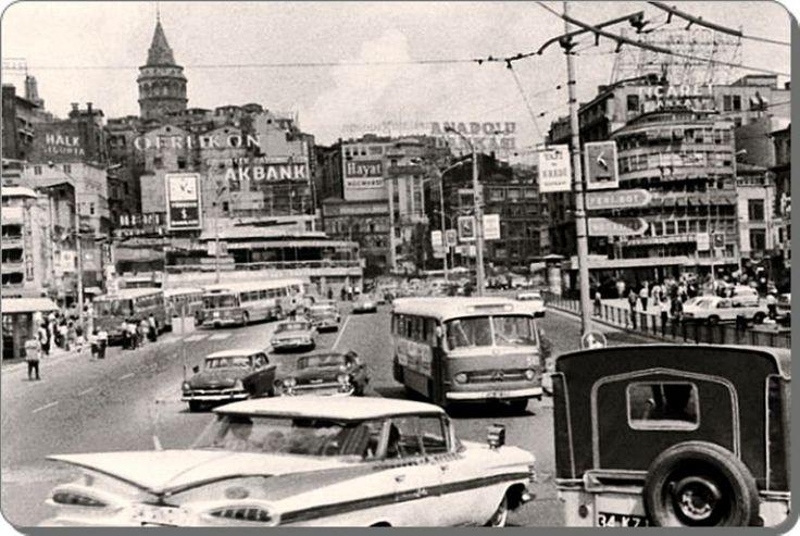 Karaköy - 1970's Istanbul - Turkey