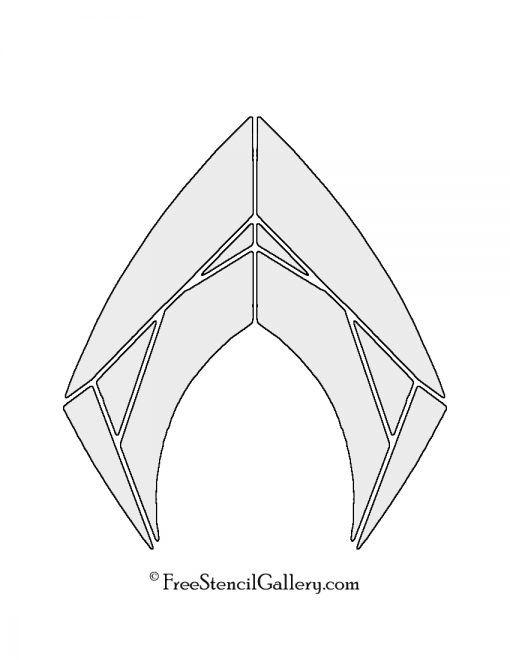 aquaman symbol coloring pages - photo#18