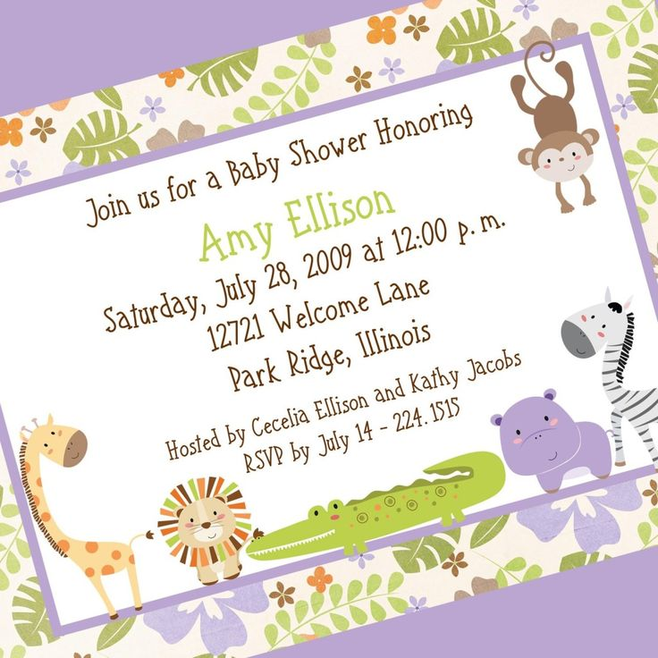 Wording For Baby Shower Invitation  How To Word Baby Shower Invitations